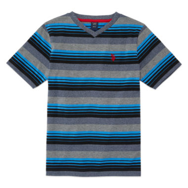 jcpenney.com | U.S. Polo Assn.® Short-Sleeve V-Neck Tee - Boys 8-20