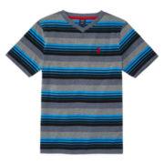 U.S. Polo Assn.® Short-Sleeve V-Neck Tee - Boys 8-20