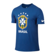 Nike® Short-Sleeve CBF Crest Cotton Tee