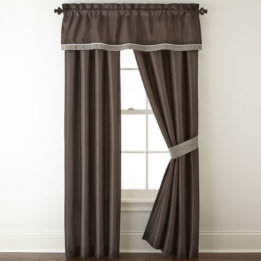 jcpenney.com | Home Expressions™ Reagan 2-pk. Curtain Panels