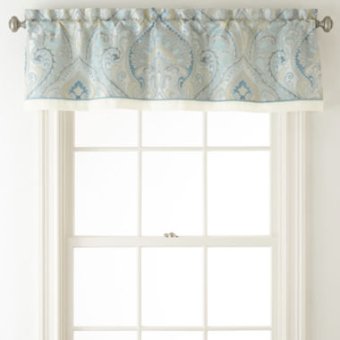 jcpenney.com | Home Expressions™ Lucerne Rod-Pocket/Back-Tab Lined Tailored Valance