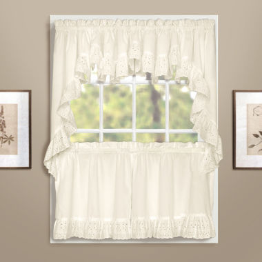 jcpenney.com | United Curtain Co. Vienna Rod-Pocket Kitchen Curtains