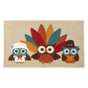 JCPenney Home™ Turkey Owl Accent Rug