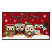JCPenney Home™ Happy Holidays Accent Rug