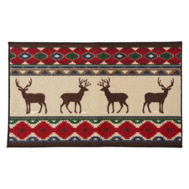 jcpenney.com | JCPenney Home™ Reindeer Lodge Accent Rug