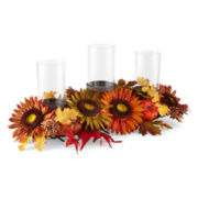 JCPenney Home™ Harvest Metal Candle Holder