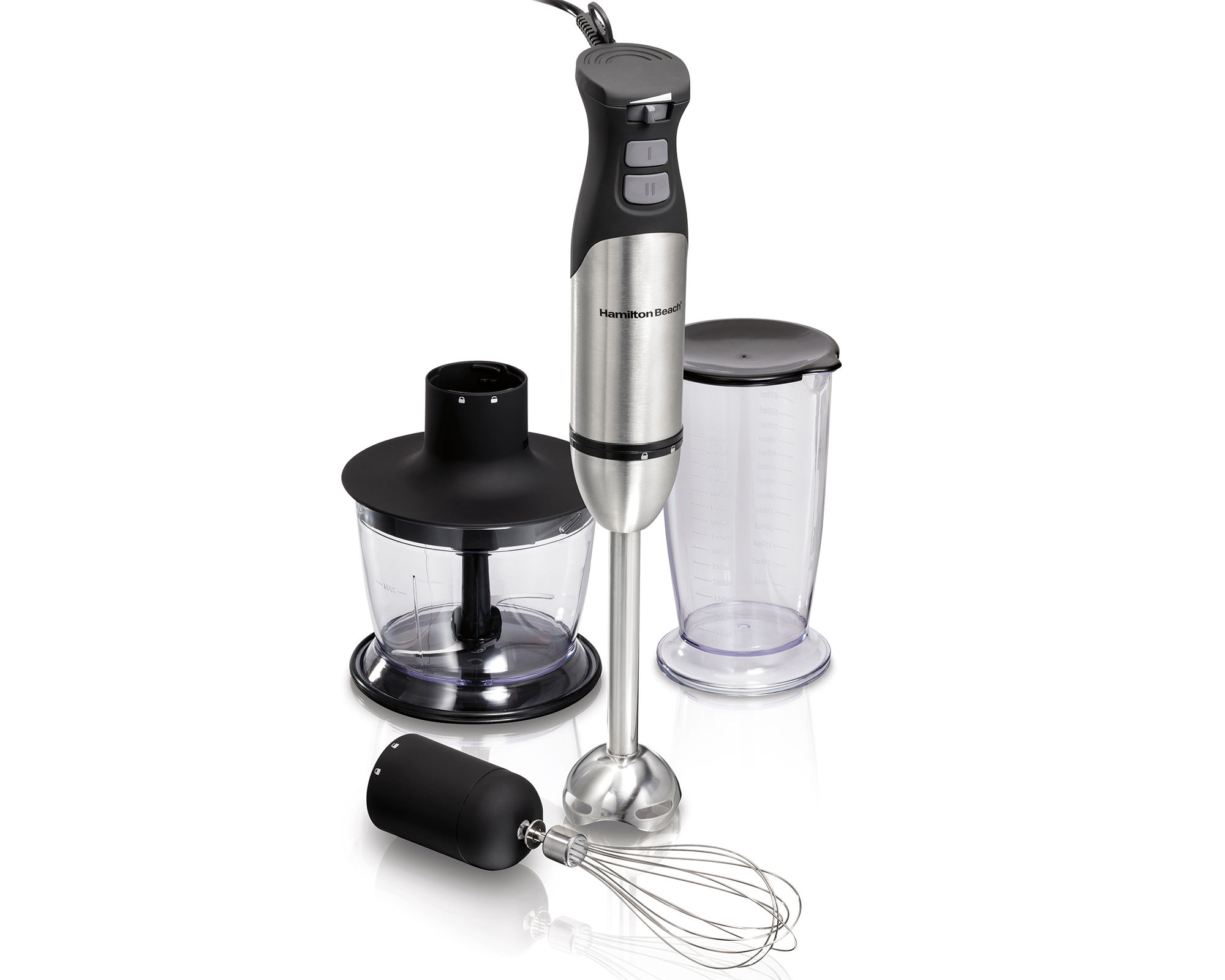 Hamilton Beach Variable-Speed Hand Blender with Turbo Boost Power