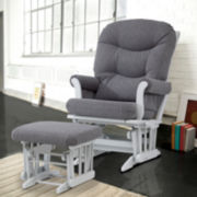 Dutailier® 2-pc. Dark Sleigh Glider Furniture Set