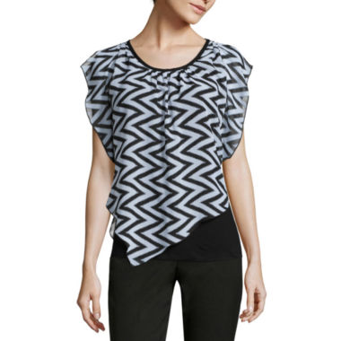 jcpenney.com | Alyx® Short-Sleeve Popover Top