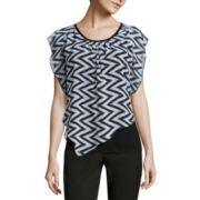 Alyx® Short-Sleeve Popover Top