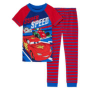 Disney Collection Cars 2-pc. Cotton Pajama Set - Boys 8-20