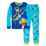 Disney Collection Miles 2-pc. Cotton Pajama Set - Boys 8-20