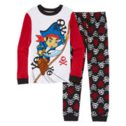 Disney Collection Jake 2-pc. Cotton Pajama Set - Boys 8-20