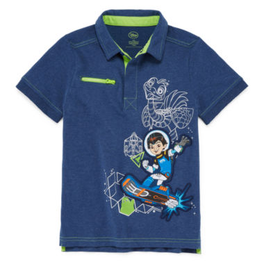 jcpenney.com | Disney® Miles Short-Sleeve Cotton Polo - Boys