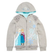 Disney Collection Frozen Fleece Jacket - Girls