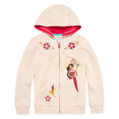 jcpenney.com | Disney Collection Elena Fleece Jacket - Girls