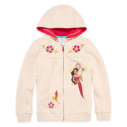 Disney Collection Elena Fleece Jacket - Girls