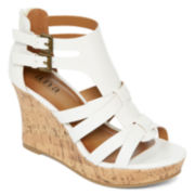a.n.a® Molly Wedge Sandals