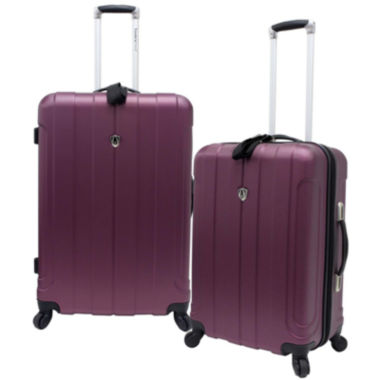 jcpenney.com | Traveler's Choice® Cambridge 2-Piece Hardsided Spinner Luggage Set