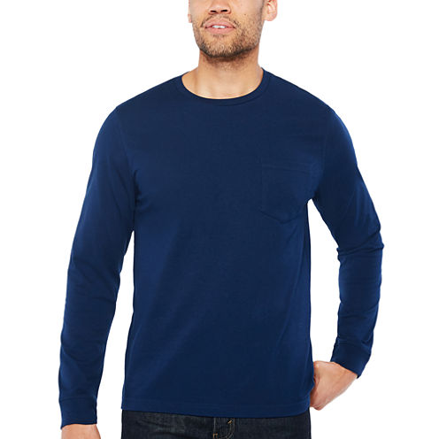 Big Mac Long Sleeve Crew Neck T-Shirt-Tall