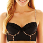Flirtitude® Satin Demi Underwire Bra