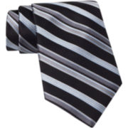 Claiborne® Satin-Striped Silk Tie