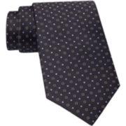 Claiborne® Micro-Dot Silk Tie
