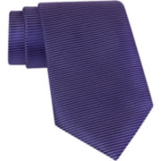 Claiborne® Horizontal Striped Silk Tie