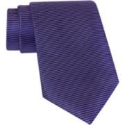 Claiborne® Horizontal Striped Silk Tie