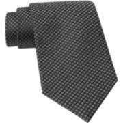 Claiborne® Mini Micro Squares Silk Tie