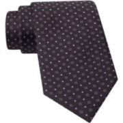 Claiborne® Micro Pattern Silk Tie
