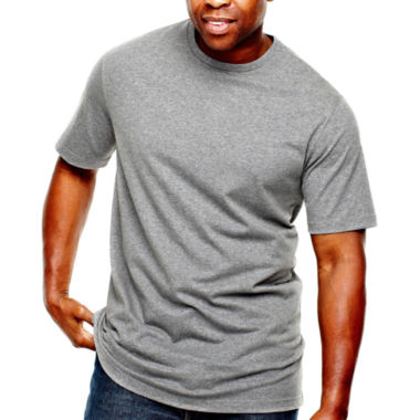 jcpenney.com | The Foundry Big & Tall Supply Co.™ Solid Tee