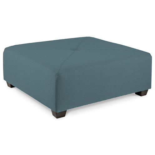 Fabric Possibilities Cocktail Ottoman