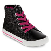 Total Girl® Lil Hillary  Girls High-Top Sneakers - Toddler