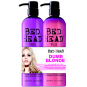 Bed Head® by TIGI® Dumb Blonde™ Shampoo & Reconstructor Tween Duo