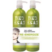 Bed Head® by TIGI® Urban Anti+Dotes™ Re-Energize™ Shampoo & Conditioner Tween Duo