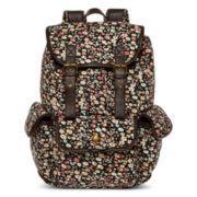 Olsenboye® Floral Ditsy Print Corduroy Backpack