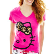 Hello Kitty® Short-Sleeve Print Sleep Tee