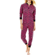 Sleep Riot Vayola Long-Sleeve Zip-Front One-Piece Pajamas