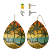 Carole 3-pr. Tropical Earrings