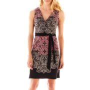 nicole by Nicole Miller® Sleeveless Wrap Dress