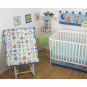 Sumersault Monster Babies 4-pc. Baby Bedding