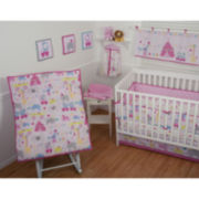Sumersault Circus Circus 4-pc. Baby Bedding