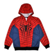 Spider-Man Costume Fleece Hoodie - Boys 8-20