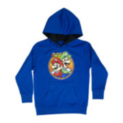 Super Mario Brothers Long-Sleeve Graphic Hoodie - Boys 6-18