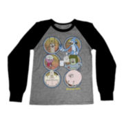 Regular Show Long-Sleeve Raglan Graphic Tee - Boys 6-18