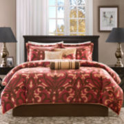 Madison Park Bordeaux 7-pc. Jacquard Comforter Set
