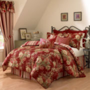 Waverly® Ballad Bouquet Reversible 4-pc. Comforter Set & Accessories