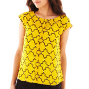 Worthingon® Sleeveless Shell Blouse - Petite