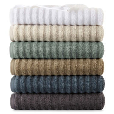 jcpenney.com | Studio™ Quick-Dri™ Ribbed Bath Towels